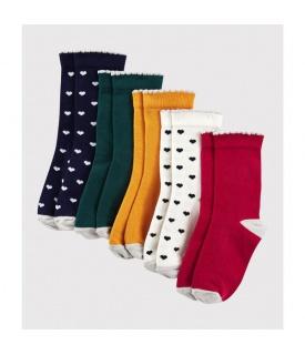 Dívčí ponožky - 5 párů